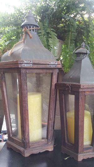 2 Boho Candle Holders Both...So Fun😍 for Sale in Chula Vista, CA