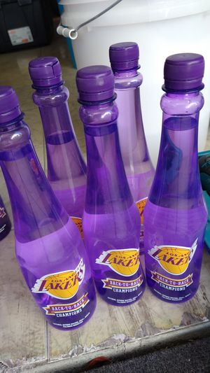 Lakers water bottles for Sale in Carson, CA