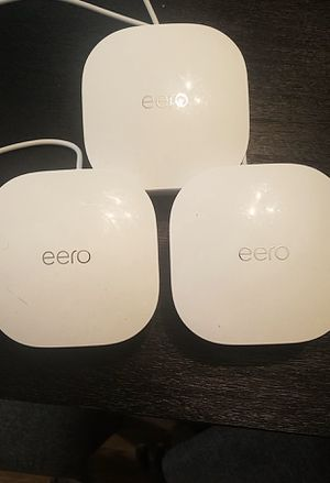 Eero Wi-Fi 3 pack Network System for Sale in Pittsburgh, PA