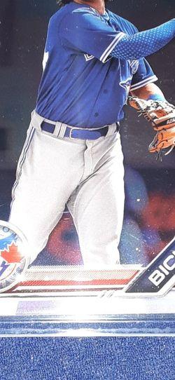 Bo Bichette Bowman Chrome Minor League Prospects Card for Sale in Garland,  TX