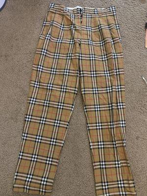 Size 48 men Burberry Men pants size for Sale in Las Vegas, NV