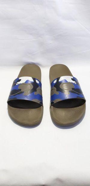 Authentic Valentino Men Slides Flip Flops Size 12 for Sale in Las Vegas, NV
