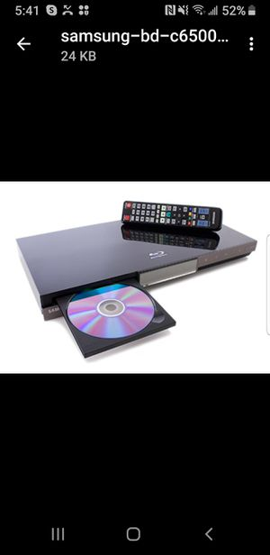 Samsung Bluray/DVD Player BD-C6500 for Sale for Sale in Aloma, FL
