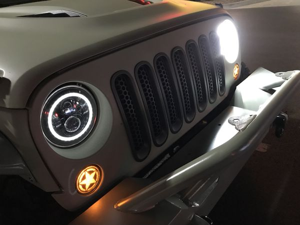Jeep Led Projector Headlamps $125 / pair New