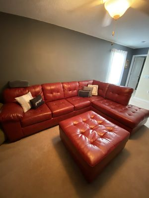 Leather Sectional Couch for Sale in NEW PRT RCHY, FL