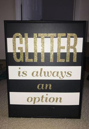 Glitter picture for Sale in Alexandria, VA