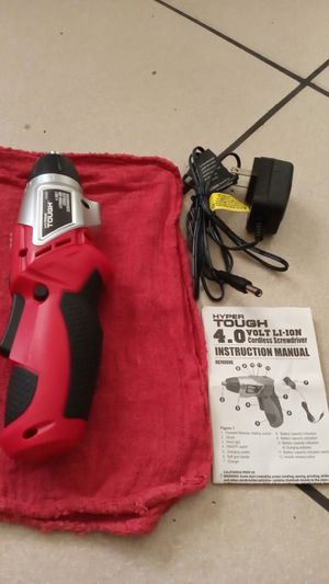 New hyper tough drill with manual and charger. for Sale in Miami, FL