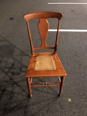 Cain chair for Sale in Alexandria, VA