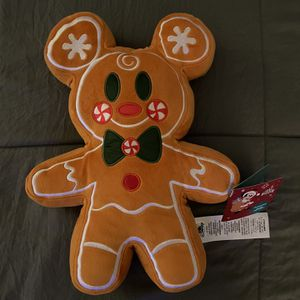 Gingerbread Mickey Plush for Sale in Chino Hills, CA