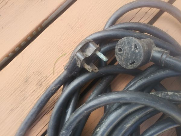 50 foot RV camper 30A amp power cord extension