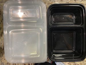 Set of 12. Food storage containers for meal prep. for Sale in Alameda, CA