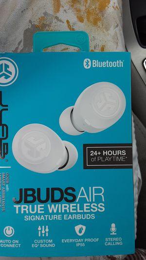 Jlab Jbudsair bluetooth wireless earbuds. for Sale in San Bernardino, CA