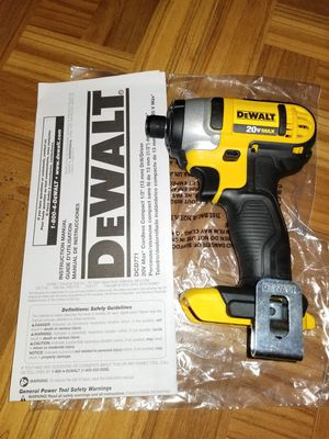Dewalt Impact Driver 20V for Sale in Norwalk, CA