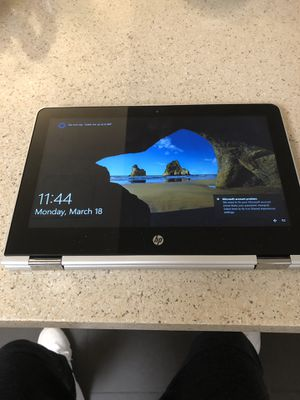 Hp pavilion 360 laptop touch screen for Sale in Fairfax, VA