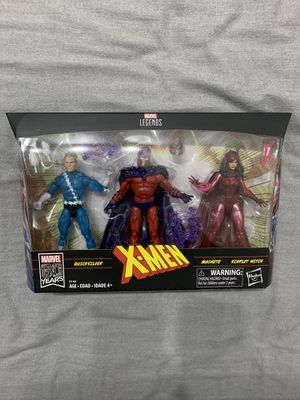 Marvel Legends X-MEN Family Matters 3 Pack Magneto Quicksilver Scarlet Witch for Sale in San Diego, CA