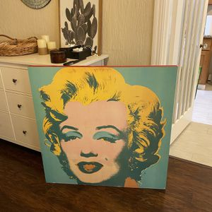 Andy Warhol Marilyn Monroe painting Frame for Sale in San Francisco, CA