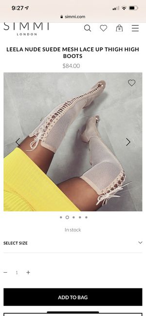 Simmi london thigh high boots for Sale in Miami, FL