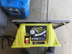 "Ryobi 10"" table saw for Sale in Chula Vista, CA"
