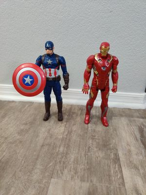 Iron man and Captain America toys for Sale in Phoenix, AZ