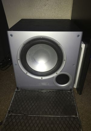 polk audio powered 10in subwoofer for Sale in Modesto, CA
