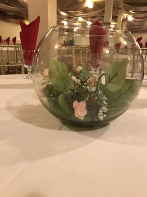 Glass Fish bowl Vase (Lot of 10) for Sale in Union City, CA