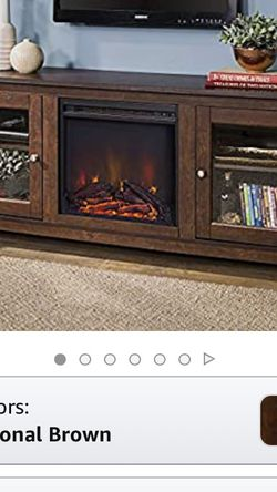 Brand New !!!! TV Stand With Fireplace !!! for Sale in Taylorsville,  UT