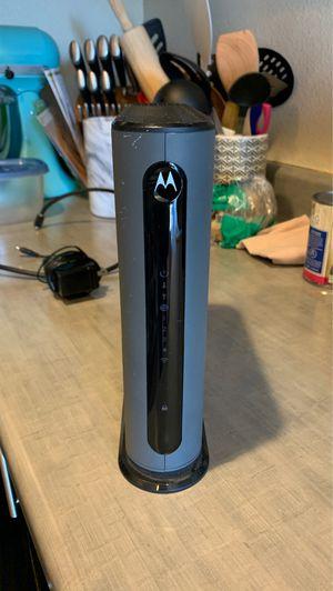 Motorola cable modem plus n300 router for Sale in Denver, CO
