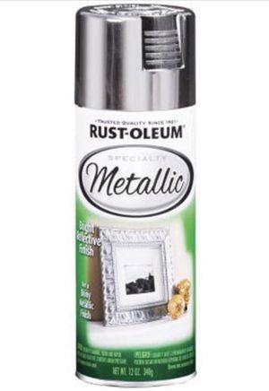 Rustoleum metallic spray paint for Sale in Seattle, WA