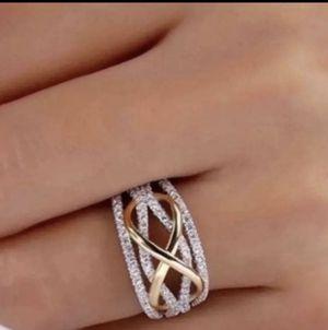 Woman Silver Sapphire Wedding Ring for Sale in Tucker, GA
