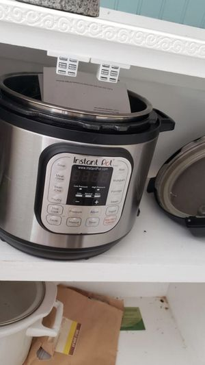 Instant pot for Sale in Wake Forest, NC