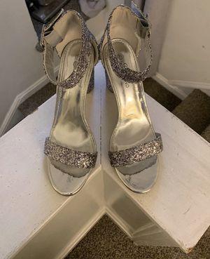 Silvery Glitter Block Heels for Sale in Westlake, OH