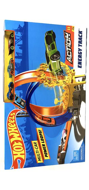 🎄🎁 Hot Wheels Car Power Loops Energy Track- Brand New for Sale in Vancouver, WA