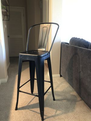 Black/Antique Gold 30 Inch Bar Stool for Sale in Los Angeles, CA
