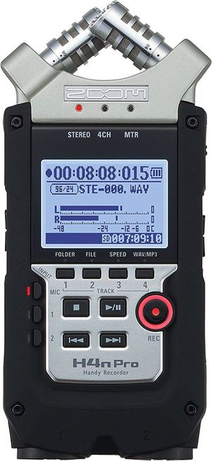 H4n Pro Portable Digital Audio Recorder for Sale in Dallas, TX