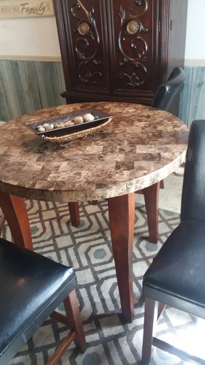Granite dining hightop table for Sale in Plant City, FL