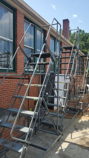 Warehouse roll around steps for Sale in Rock Hill, SC