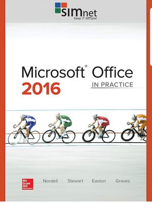 Microsoft officie 2016 . BOOK AND SIMNET ACCES Card. By Mc Graw Hill. for Sale in Margate, FL