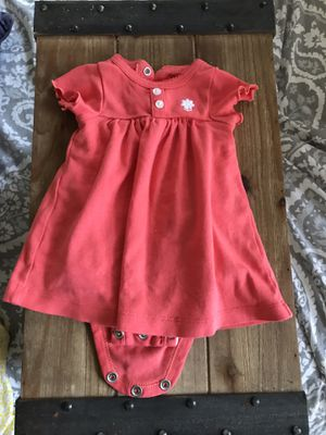 Baby girl dress and shoes - 3x like new - newborn 0-3 months for Sale in Miami, FL