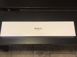 Apple Watch S3 GPS 42mm Space Gray black band BRAND NEW IN SEALED PACKAGE for Sale in Lakewood, CA