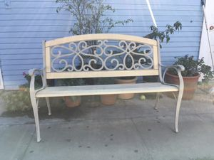 Patio bench for Sale in Buena Park, CA