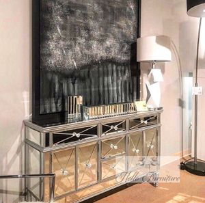 New Morgan Mirrored Dresser for Sale in La Habra, CA