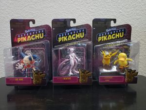 Detective Pikachu collector set for Sale in Las Vegas, NV