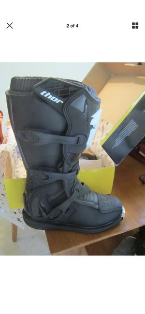 Thor dirt bike or Atv New boots for Sale in Ruskin, FL