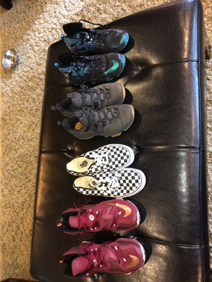 Lebron shoes and vans for Sale in Enumclaw, WA