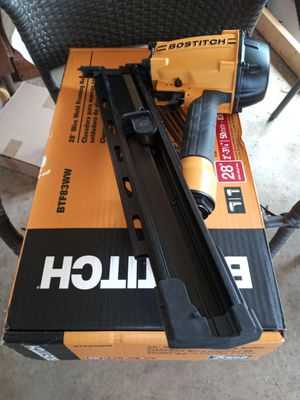 Bottish nail gun only used ones 7 years warranty for Sale in San Antonio, TX