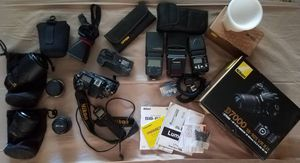 Nikon D7000, Lenses, Speed lights, Accessories for Sale in Columbus, OH