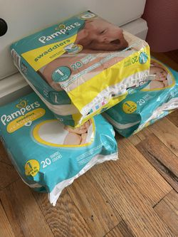 Pampers Swaddlers Diapers Size 1 for Sale in Charlotte, NC
