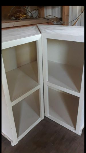 White corner cabinets for Sale in Lake Alfred, FL