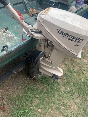 Johnson 15hp outboard motor for Sale in Mesquite, TX