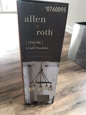 Light fixture chandelier for Sale in San Diego, CA